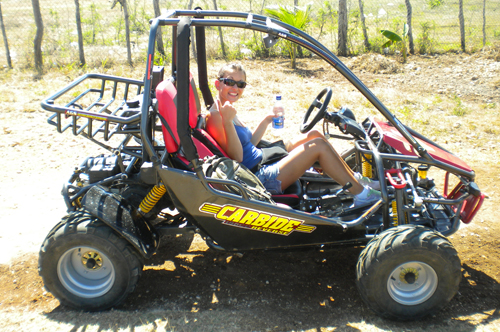 ATV buggy quad saona canto de la playa